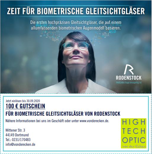 Rodenstock Gleitsichtgläser Aktion